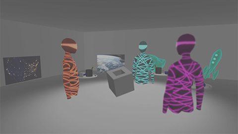 遠隔地と3Dモデルを共有